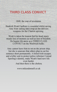Third Class Convict Back Cover